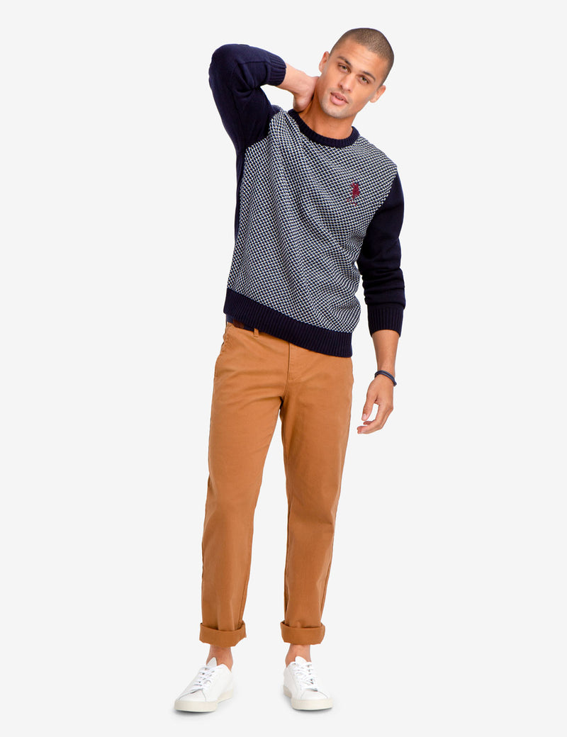 BIRDSEYE SWEATER - U.S. Polo Assn.