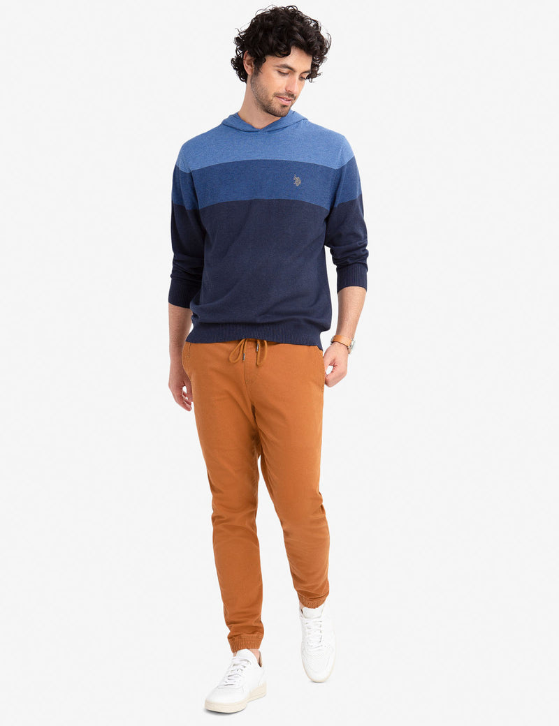 COLORBLOCK PULLOVER HOODIE - U.S. Polo Assn.
