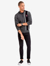 QUARTER ZIP MULTI-COLOR LOGO SWEATER - U.S. Polo Assn.