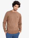 SOLID CREW NECK SWEATER - U.S. Polo Assn.