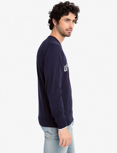 JERSEY CREW NECK SWEATER - U.S. Polo Assn.