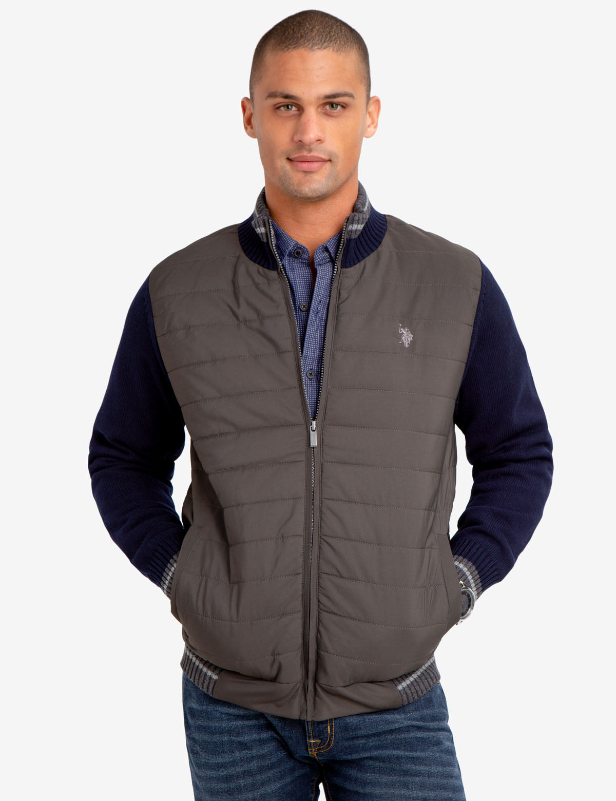 SWEATER JACKET - U.S. Polo Assn.