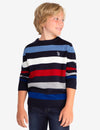 STRIPED CREW NECK SWEATER - U.S. Polo Assn.