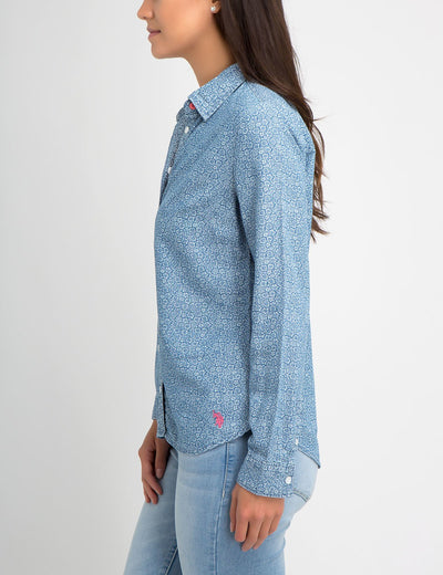 DAISY LIGHTWEIGHT CHAMBRAY SHIRT - U.S. Polo Assn.