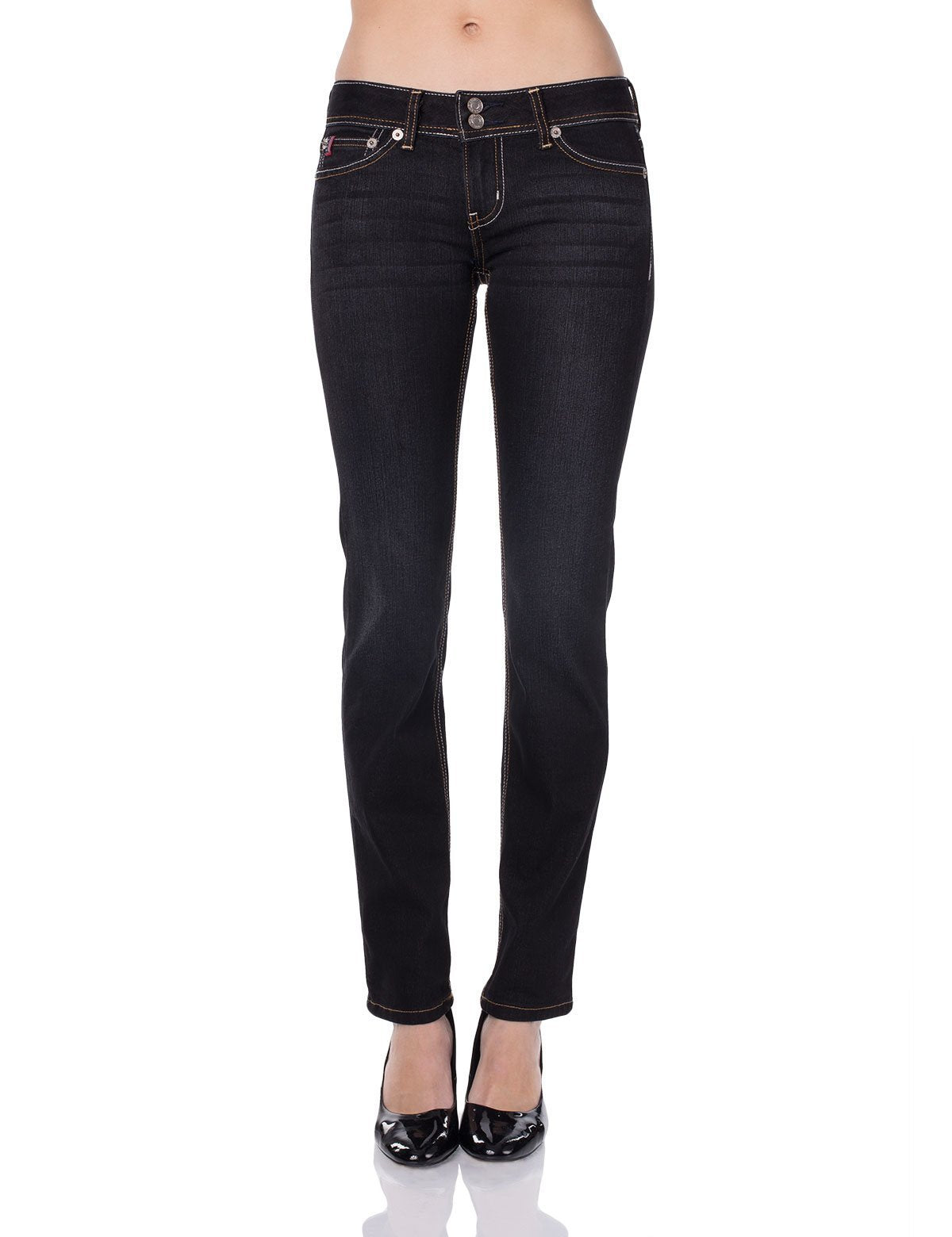 Jamie Straight Leg Fit Jean, Super Dark Wash - U.S. Polo Assn.