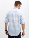 HORIZONTAL STRIPED POPLIN SHIRT - U.S. Polo Assn.