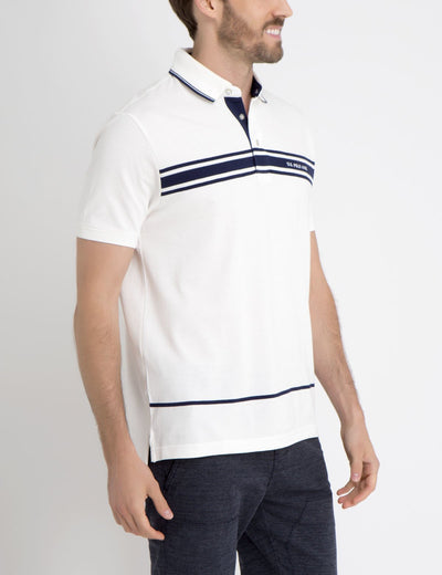 US POLO CHEST STRIPED POLO SHIRT