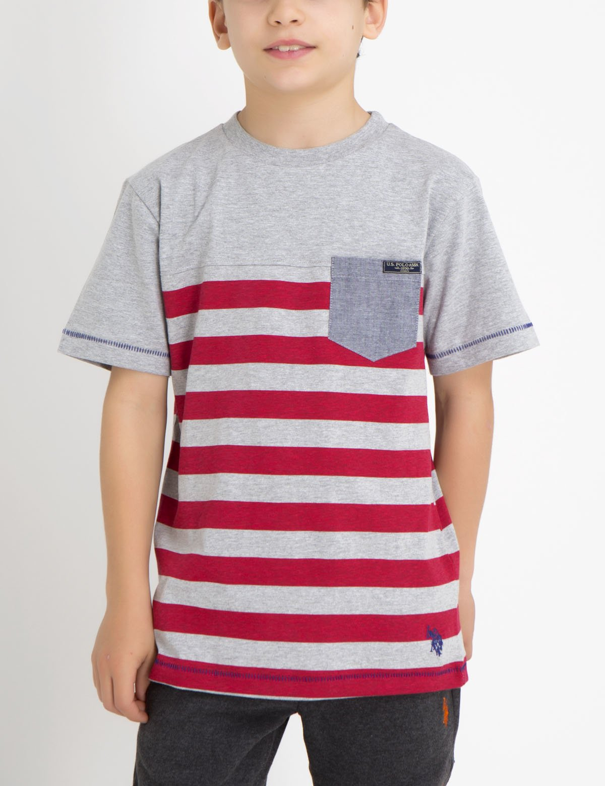 BOYS STRIPED T-SHIRT