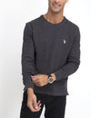 SLIM FIT STRIPED THERMAL TEE - U.S. Polo Assn.
