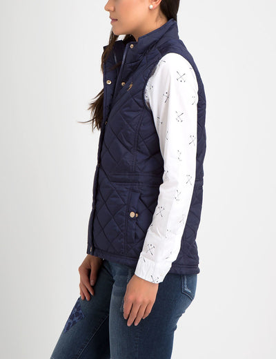 SIDE CINCHED WAIST VEST - U.S. Polo Assn.
