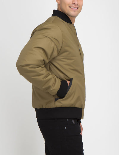 Printed Logo Recon Bomber Jacket