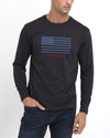LONG SLEEVE FLAG T-SHIRT