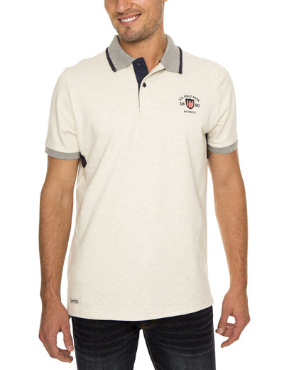 PATCH POLO SHIRT