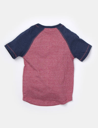 MINI STRIPE RAGLAN HENLEY