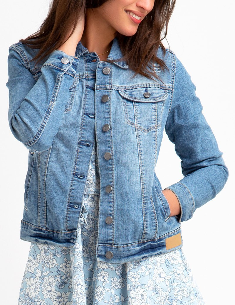 DESTRUCTED DENIM JACKET - U.S. Polo Assn.