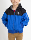BOYS FLEECE REVERSIBLE HOODIE - U.S. Polo Assn.