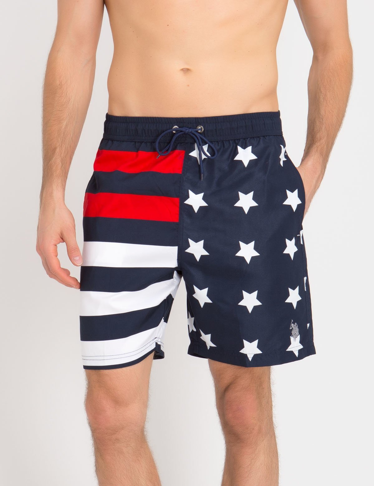 US FLAG SWIM TRUNKS