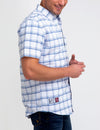 SHORT SLEEVE PLAID OXFORD SHIRT - U.S. Polo Assn.