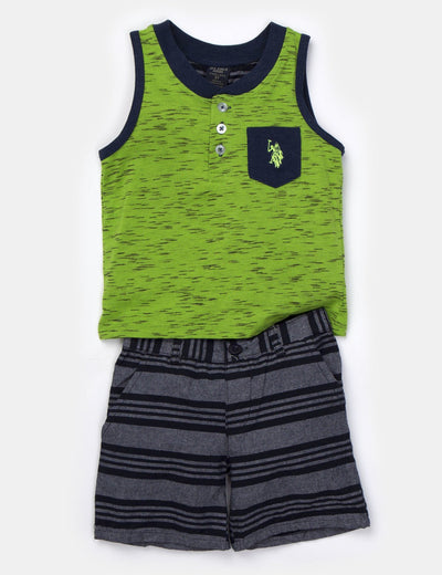 Boys 2 Piece Set - Tank & Shorts