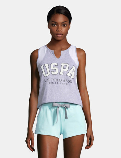 USPA TANK & SHORTS SET - U.S. Polo Assn.