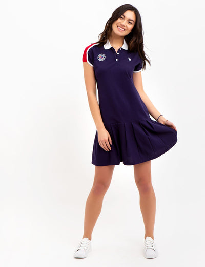 PATCH TENNIS DRESS - U.S. Polo Assn.