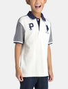 BOYS PATCH PIQUE POLO SHIRT - U.S. Polo Assn.