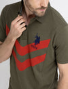 CHEVRON POLO SHIRT - U.S. Polo Assn.