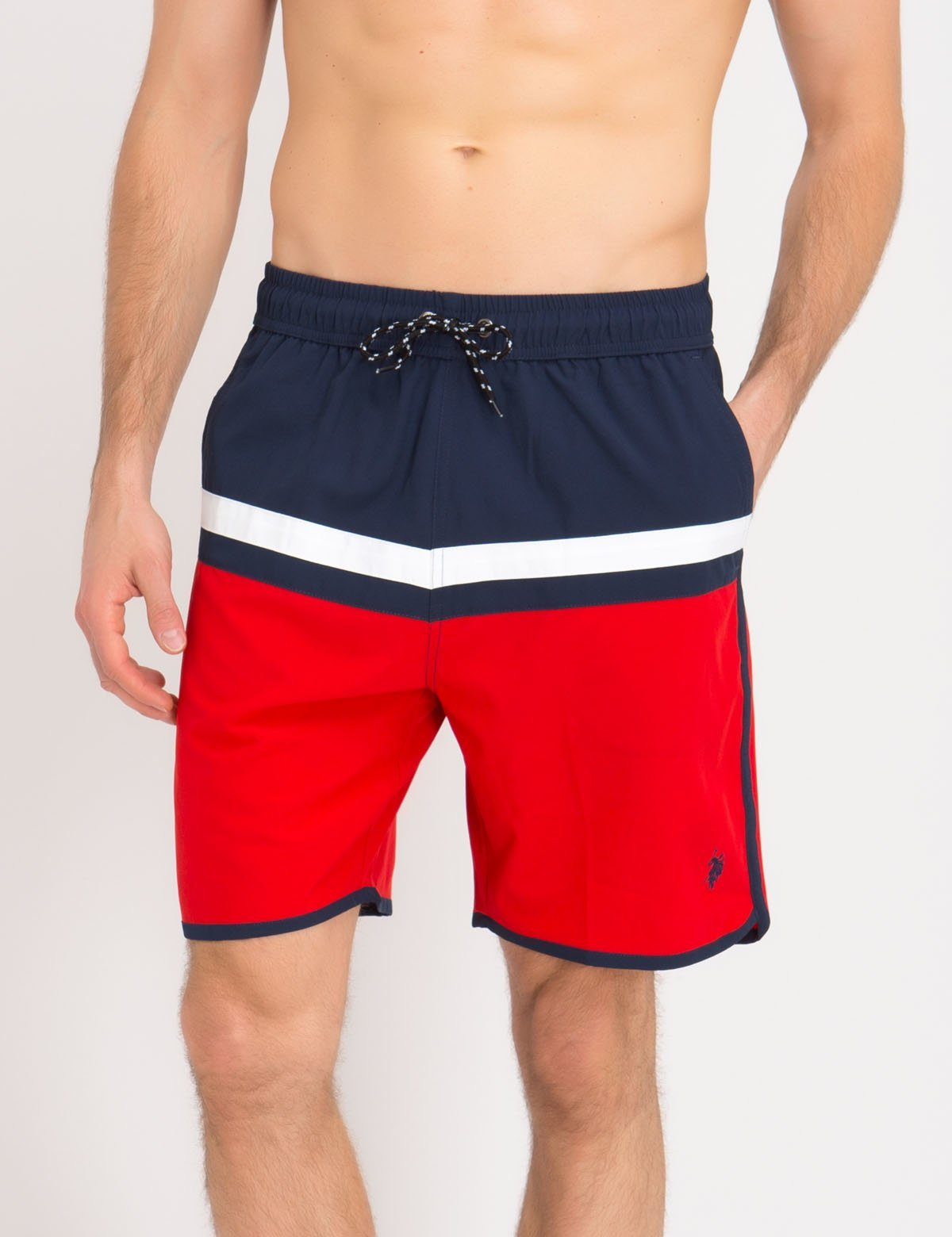 8e77847c03 COLORBLOCK SWIM TRUNKS - U.S. Polo Assn.
