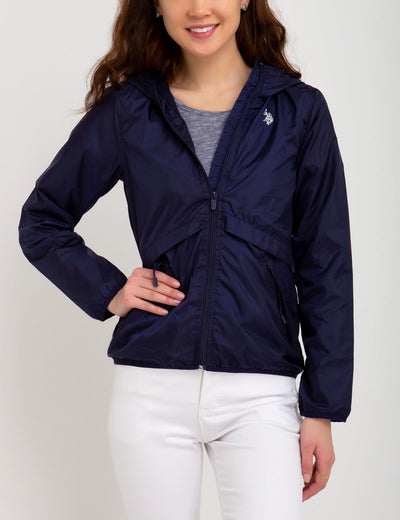 HOODED WINDBREAKER - U.S. Polo Assn.