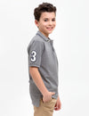BOYS SOLID POLO SHIRT - U.S. Polo Assn.