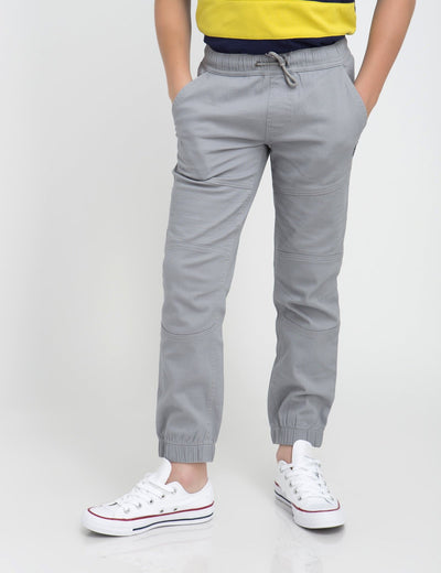 Boys PULL-ON DRAWSTRING FLEX MOTO JOGGER