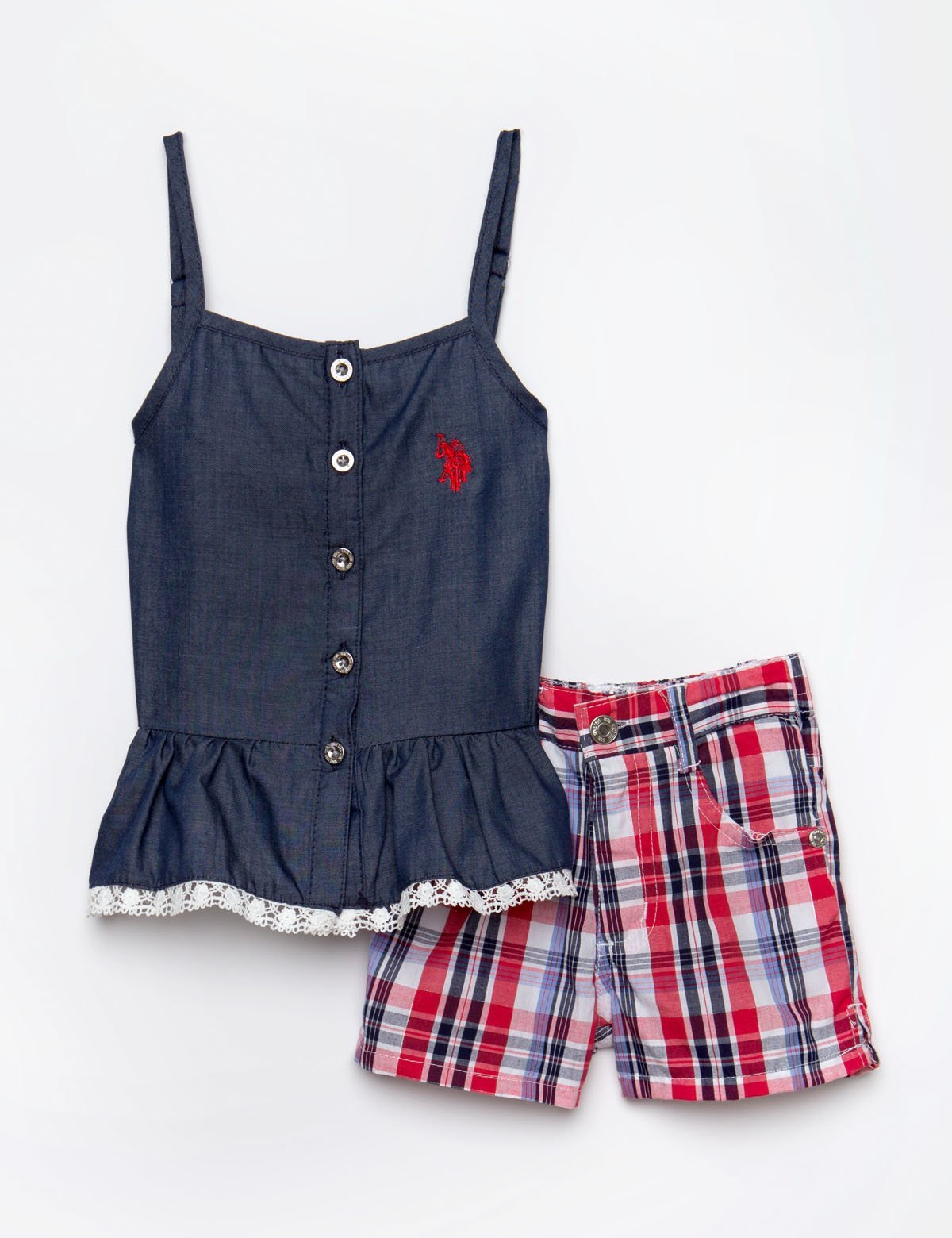 TODDLER 2 PIECE SET - TOP & SHORTS - U.S. Polo Assn.