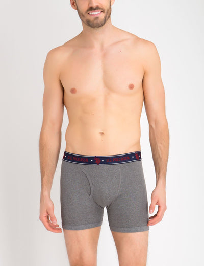 3 PACK LOW RISE BOXER BRIEFS