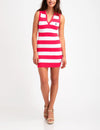 STRIPED SLEEVELESS SWEATER DRESS - U.S. Polo Assn.