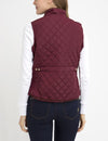 DIAMOND QUILT SIDE KNIT VEST - U.S. Polo Assn.