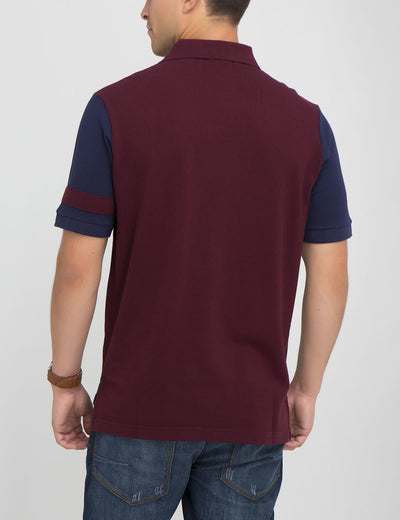 COLORBLOCK POLO SHIRT - U.S. Polo Assn.
