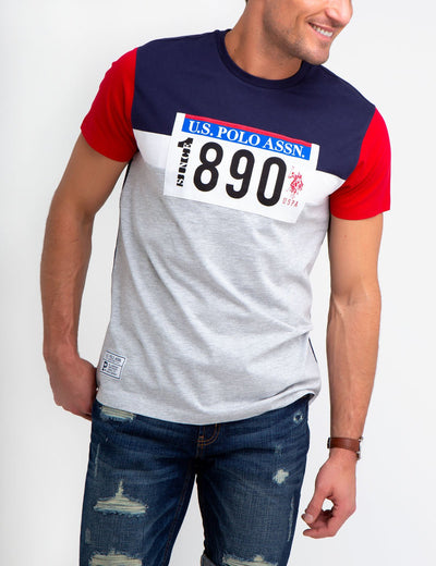U.S. Polo Assn. Colorblock Tee