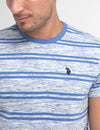 SPACE DYE STRIPE T-SHIRT - U.S. Polo Assn.