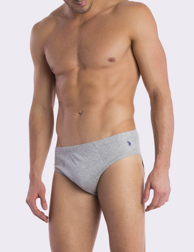 5 PACK LOW RISE BRIEFS - U.S. Polo Assn.