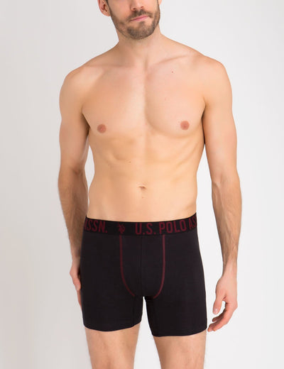 3 Pack Stretch Cotton Boxer Brief
