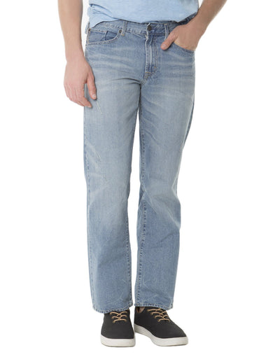 Straight Fit Jeans with back flap pockets with rip - U.S. Polo Assn.