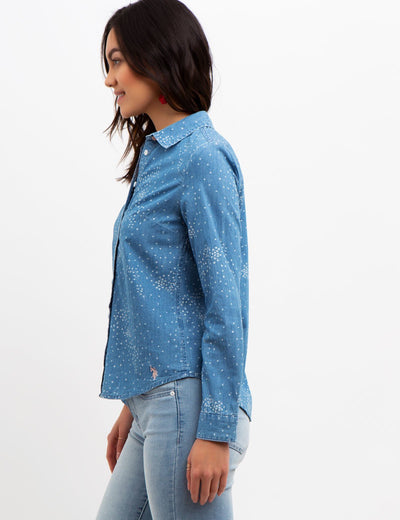 Long Sleeve Denim Shirt - U.S. Polo Assn.