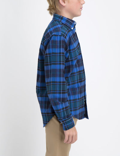 BOYS PLAID SHIRT - U.S. Polo Assn.