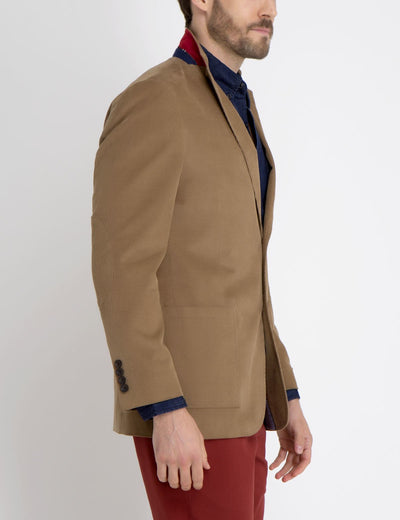 BROWN CORDUROY BLAZER