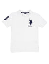 Boys Pique Big Logo Polo Shirt - U.S. Polo Assn.