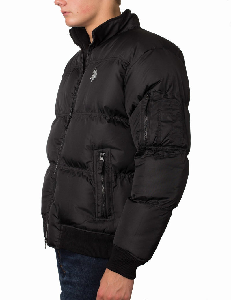 Small Logo Puffer Jacket