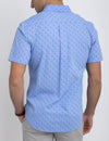 SLIM FIT CIRCLE PRINT SHIRT - U.S. Polo Assn.
