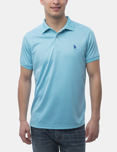 STRETCH INTERLOCK PERFORMANCE POLO SHIRT - U.S. Polo Assn.
