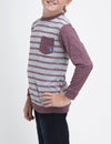 BOYS SLUB CREW TOP