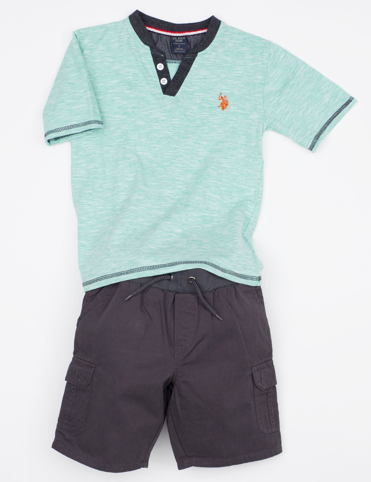 Toddler Boys Tee & Shorts Set